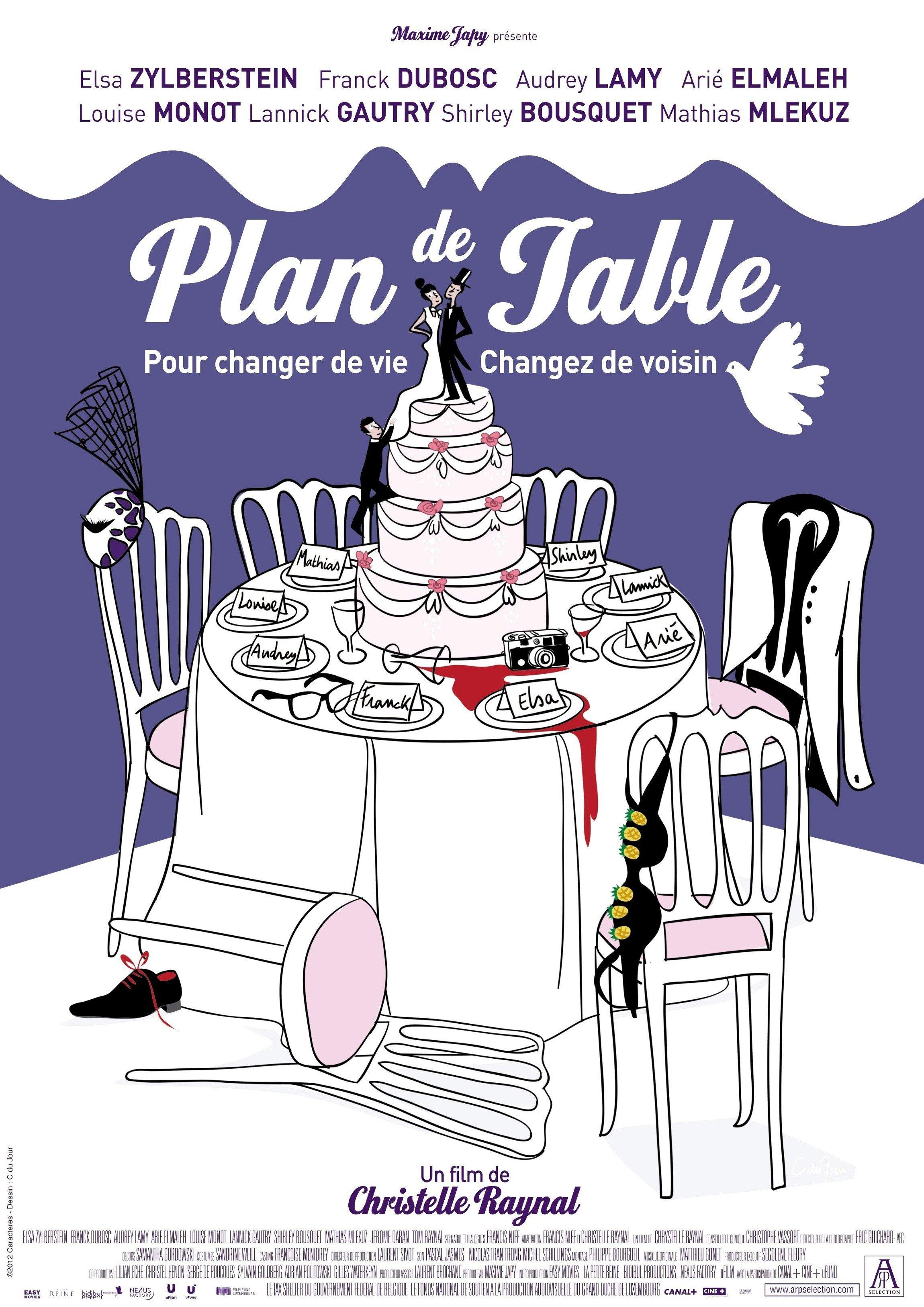 affiche du film Plan de table