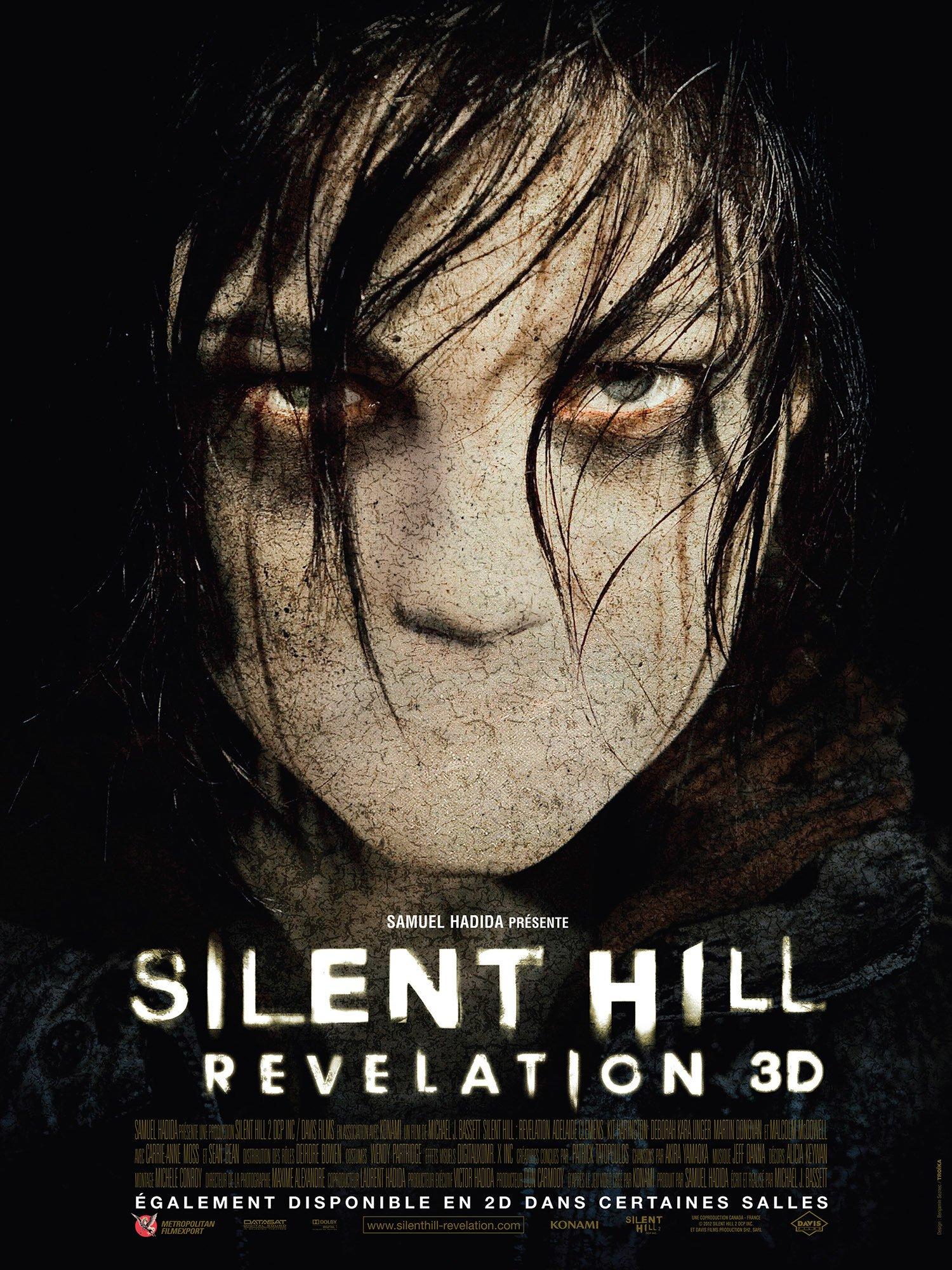 affiche du film Silent Hill: Révélation