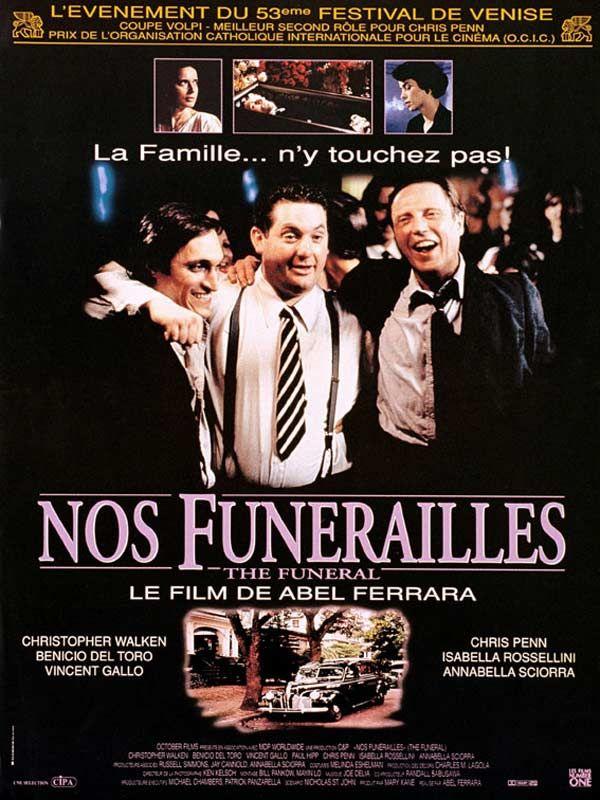 affiche du film Nos funérailles