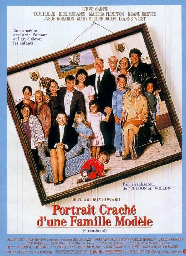 affiche du film Portrait craché d'une famille modèle