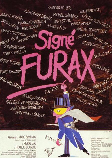 affiche du film Signé Furax