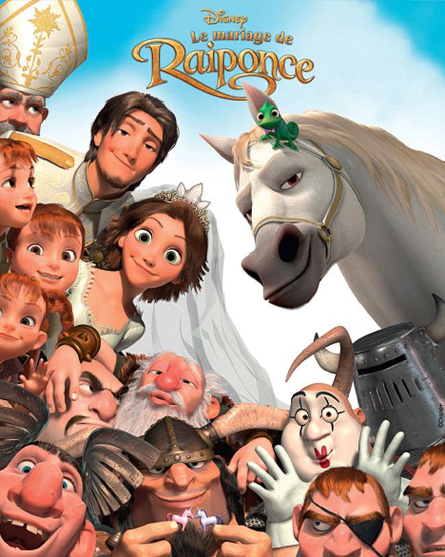 affiche du film Le mariage de Raiponce