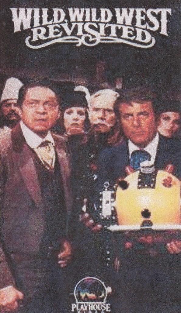 affiche du film Le retour des mystères de l'ouest (TV)