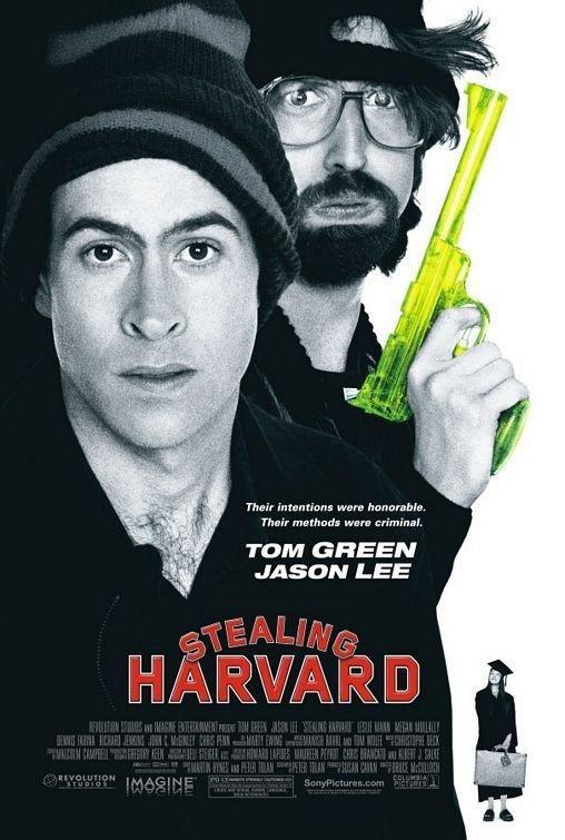 affiche du film Stealing Harvard
