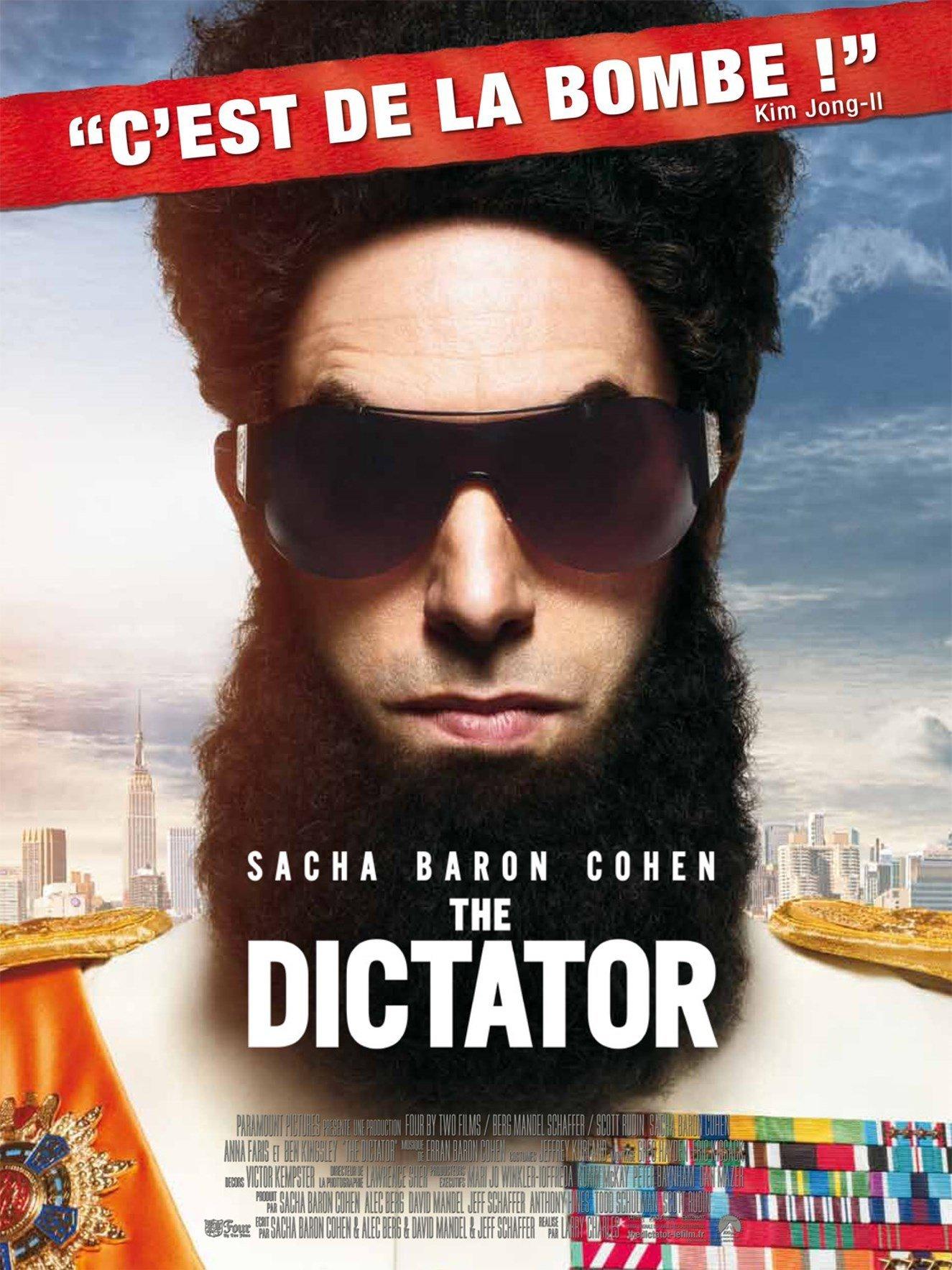 affiche du film The Dictator