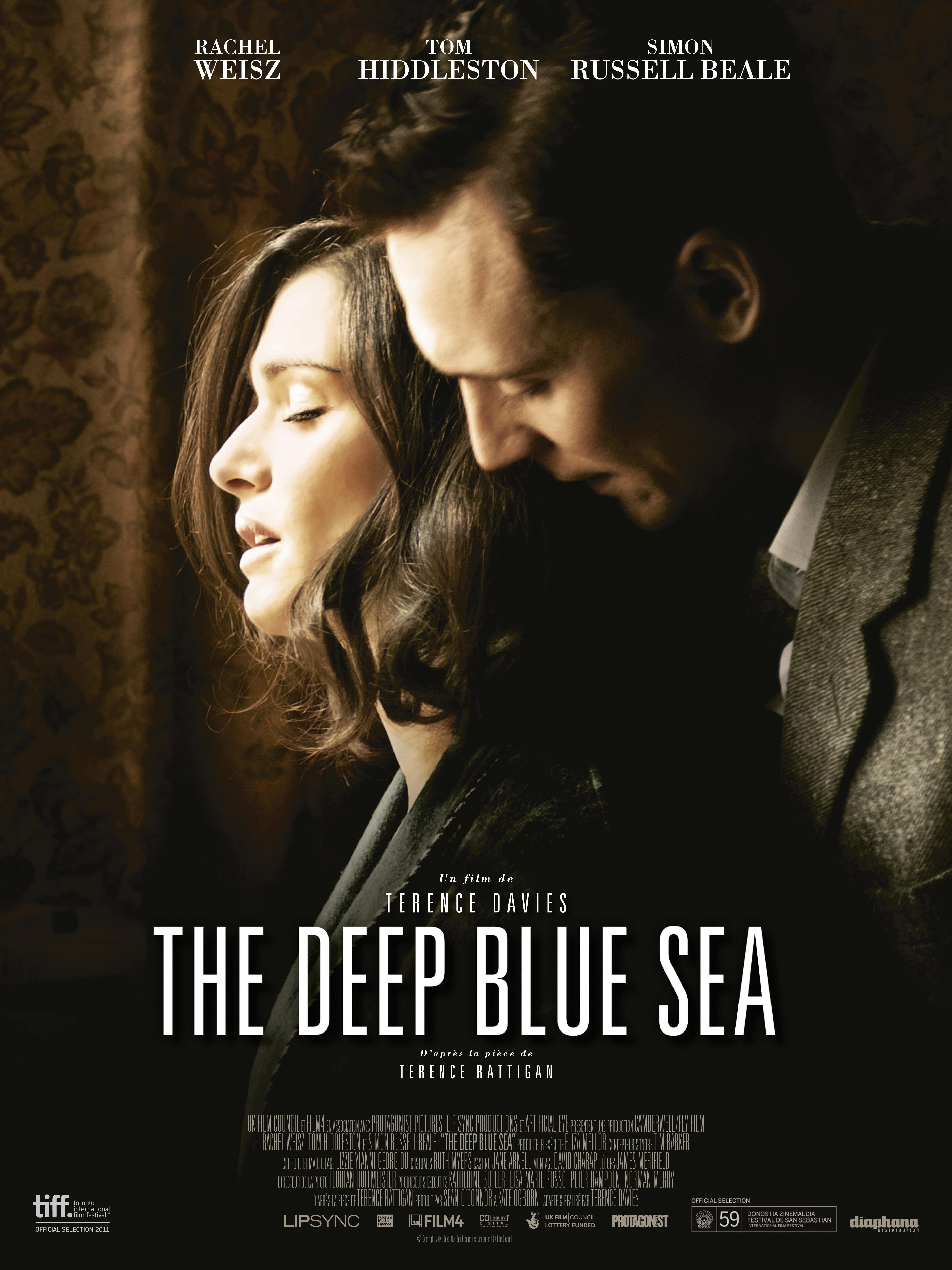 affiche du film The Deep Blue Sea
