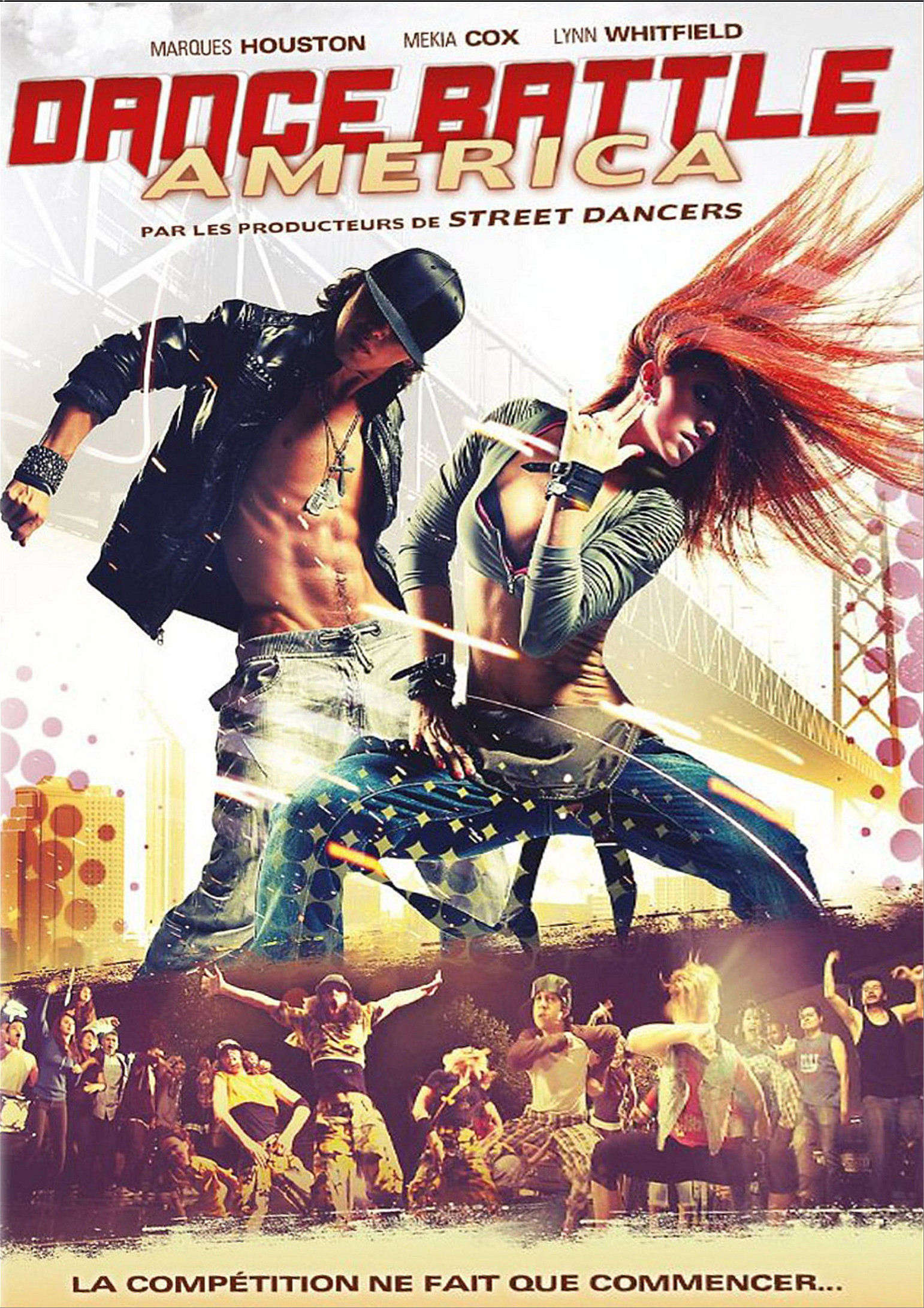 affiche du film Dance Battle America