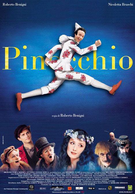 affiche du film Roberto Benigni's Pinocchio