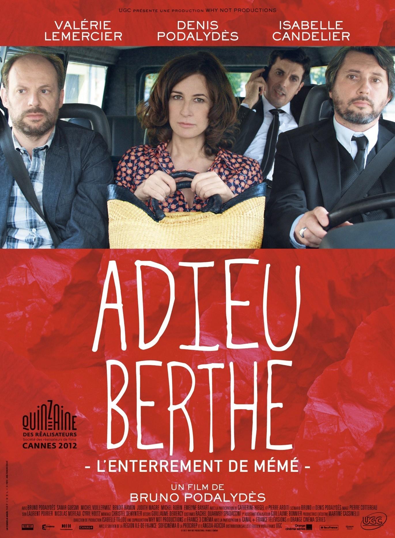 affiche du film Adieu Berthe