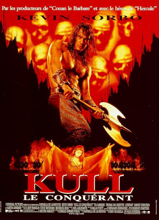 affiche du film Kull le conquérant