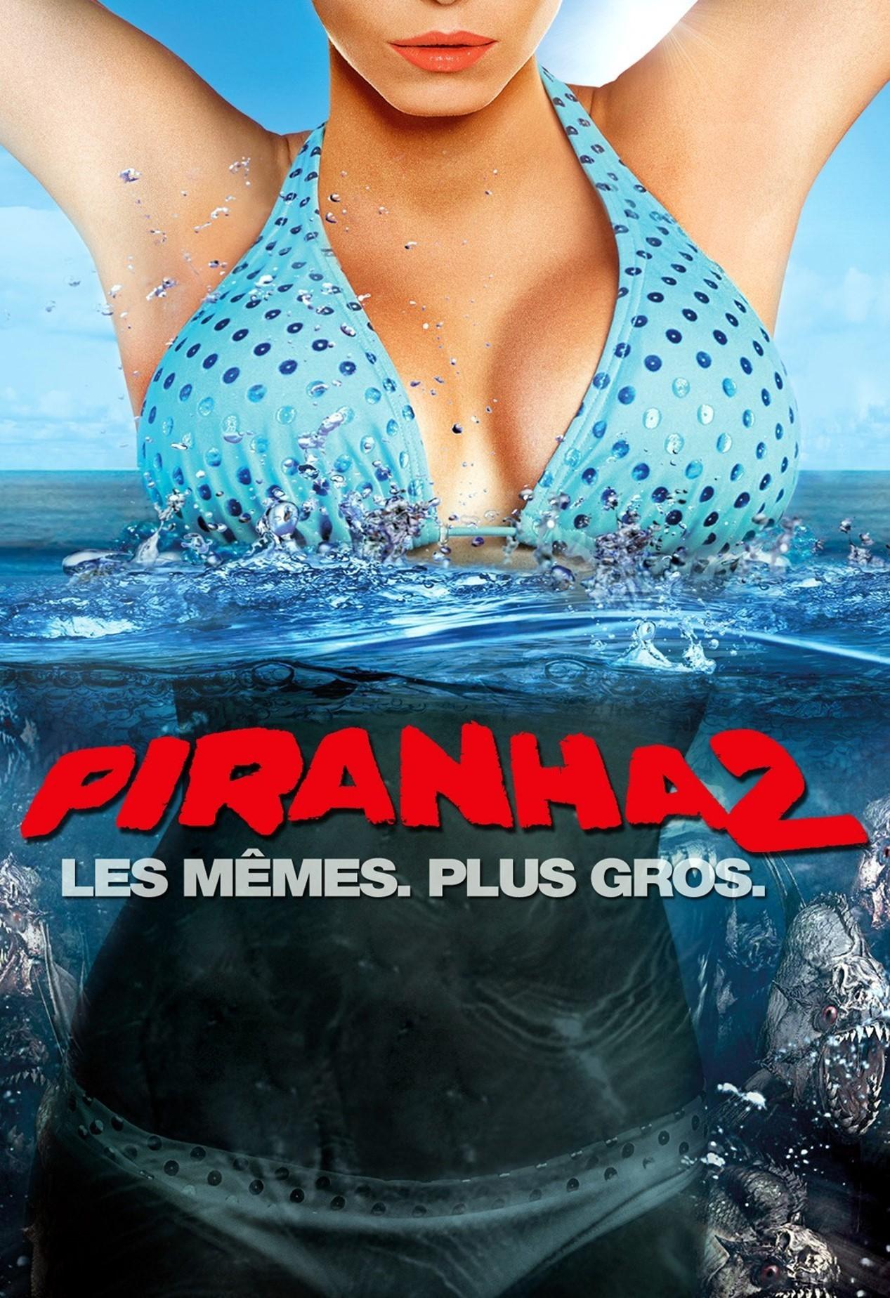 affiche du film Piranha 3DD