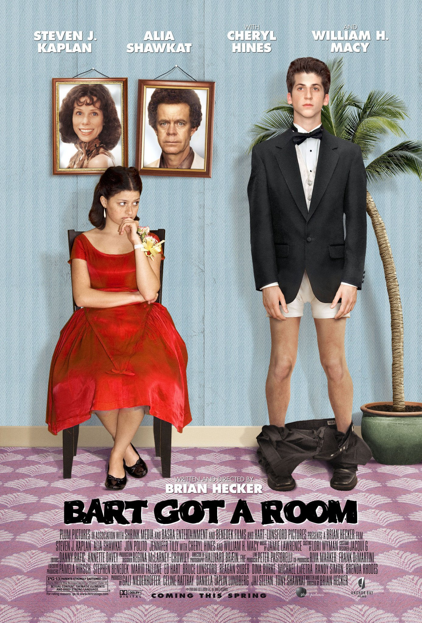 affiche du film Bart Got a Room