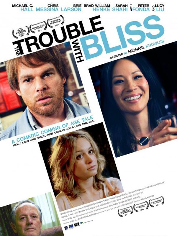 affiche du film The Trouble with Bliss