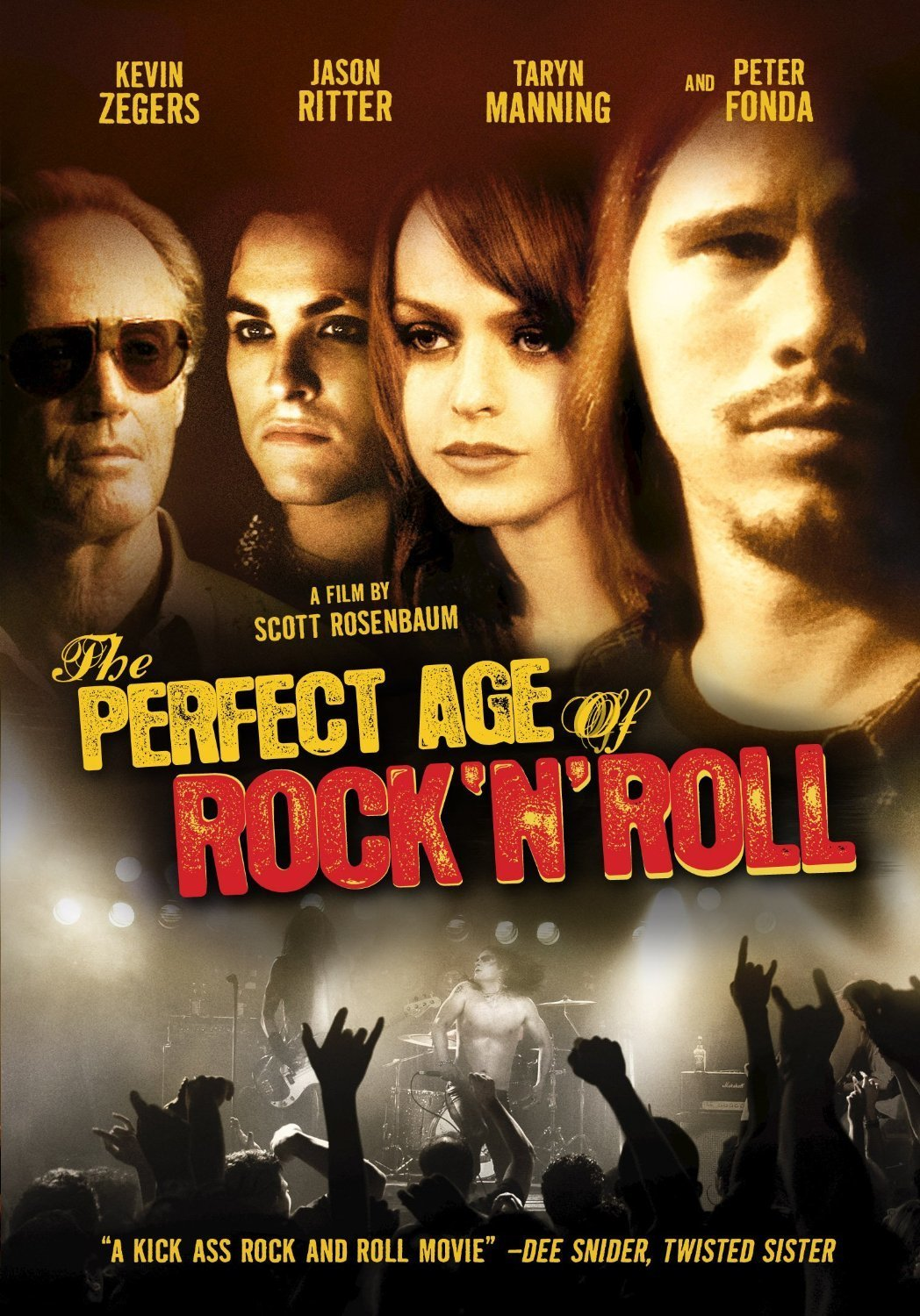 affiche du film The Perfect Age of Rock 'n' Roll