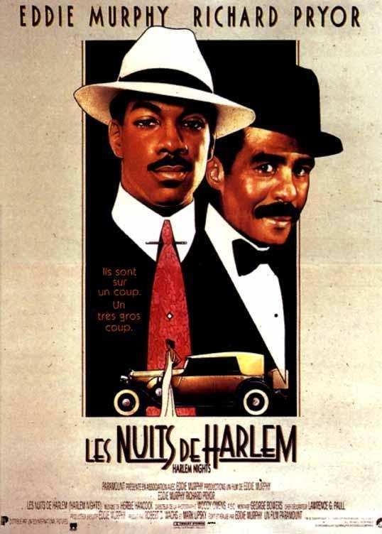 affiche du film Les nuits de Harlem