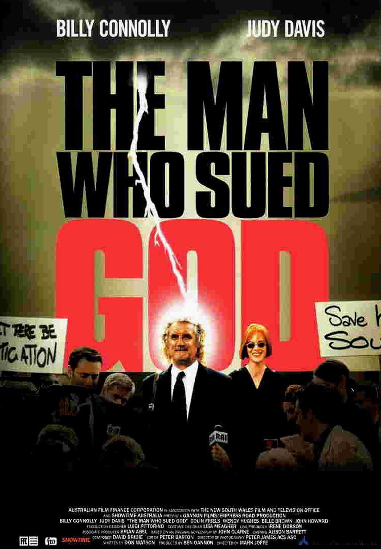 affiche du film The Man Who Sued God