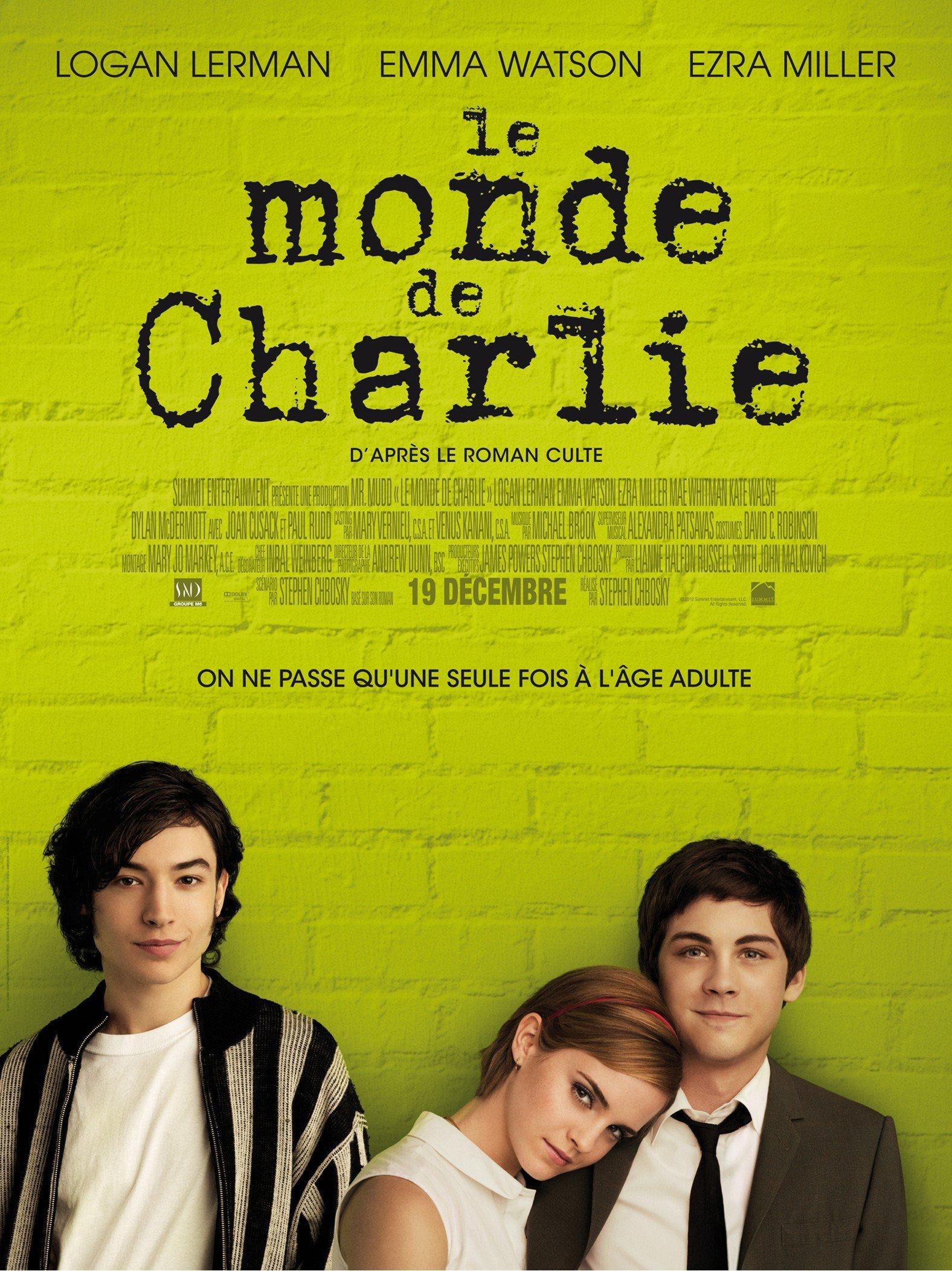 affiche du film Le Monde de Charlie