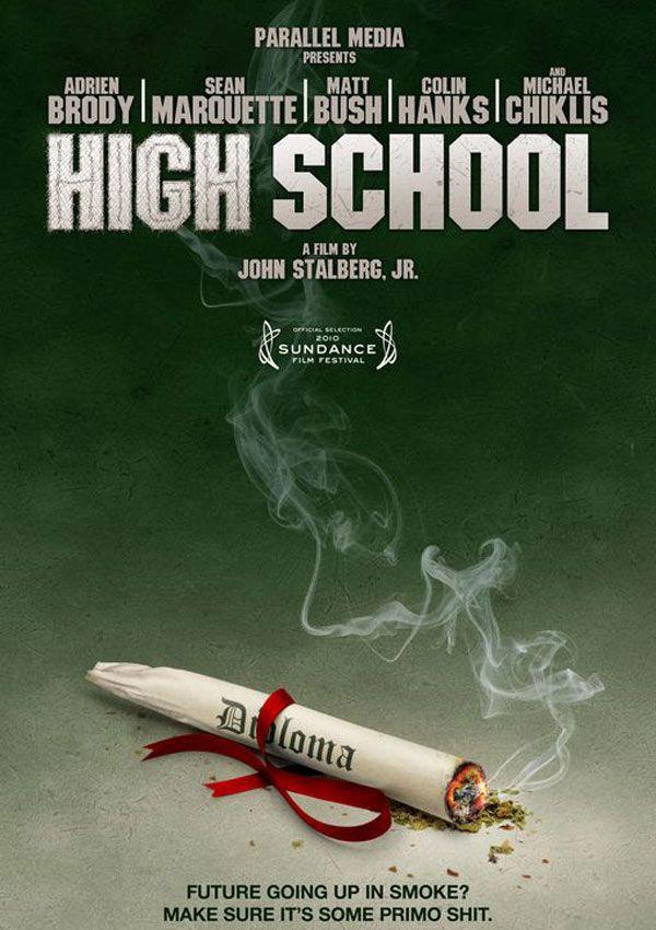 affiche du film High School