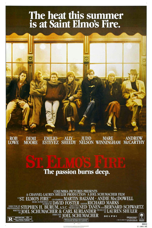 affiche du film St. Elmo's Fire