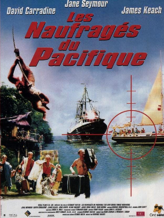 affiche du film Les naufragés du Pacifique