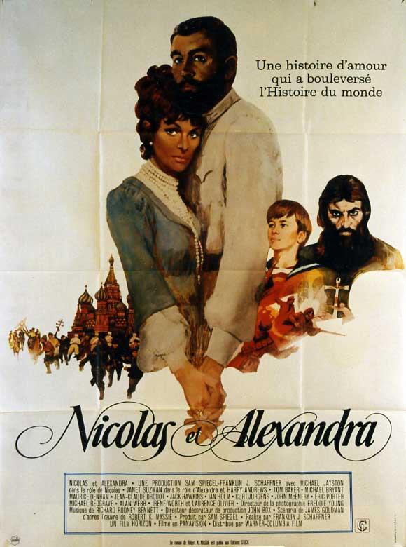 affiche du film Nicolas et Alexandra
