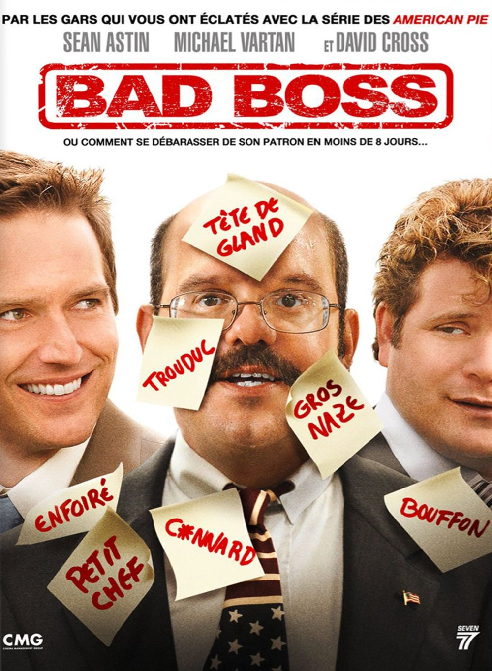 affiche du film Bad Boss