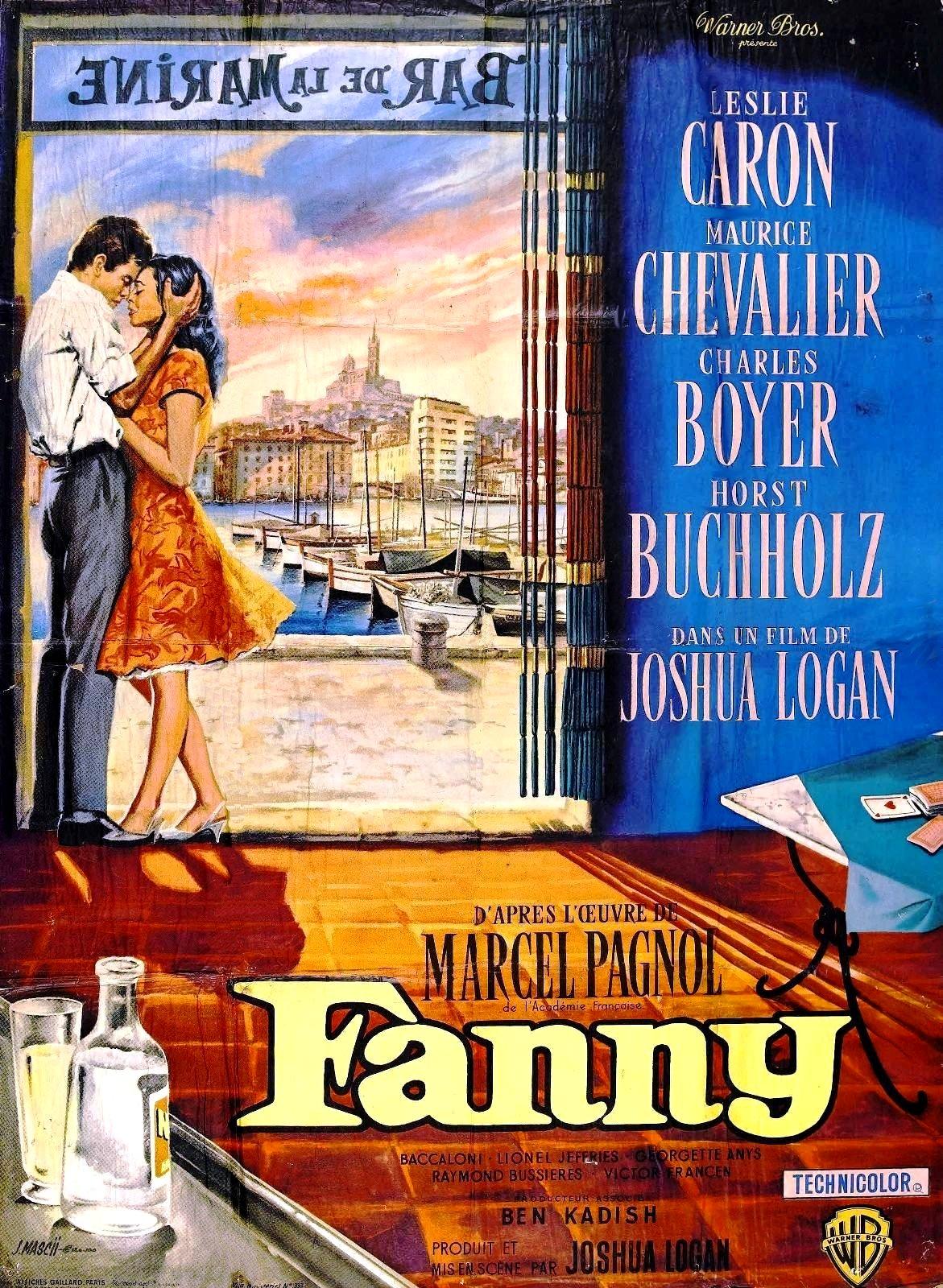 affiche du film Fanny (1961)