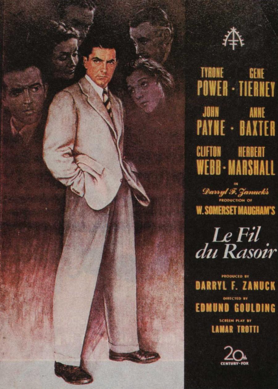 Le Fil du rasoir (The Razors edge) (1984)