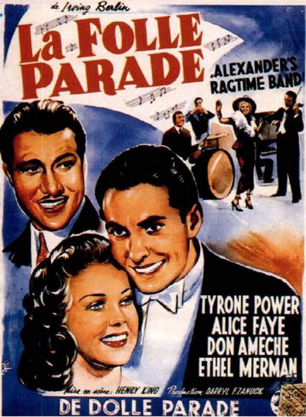affiche du film La folle parade