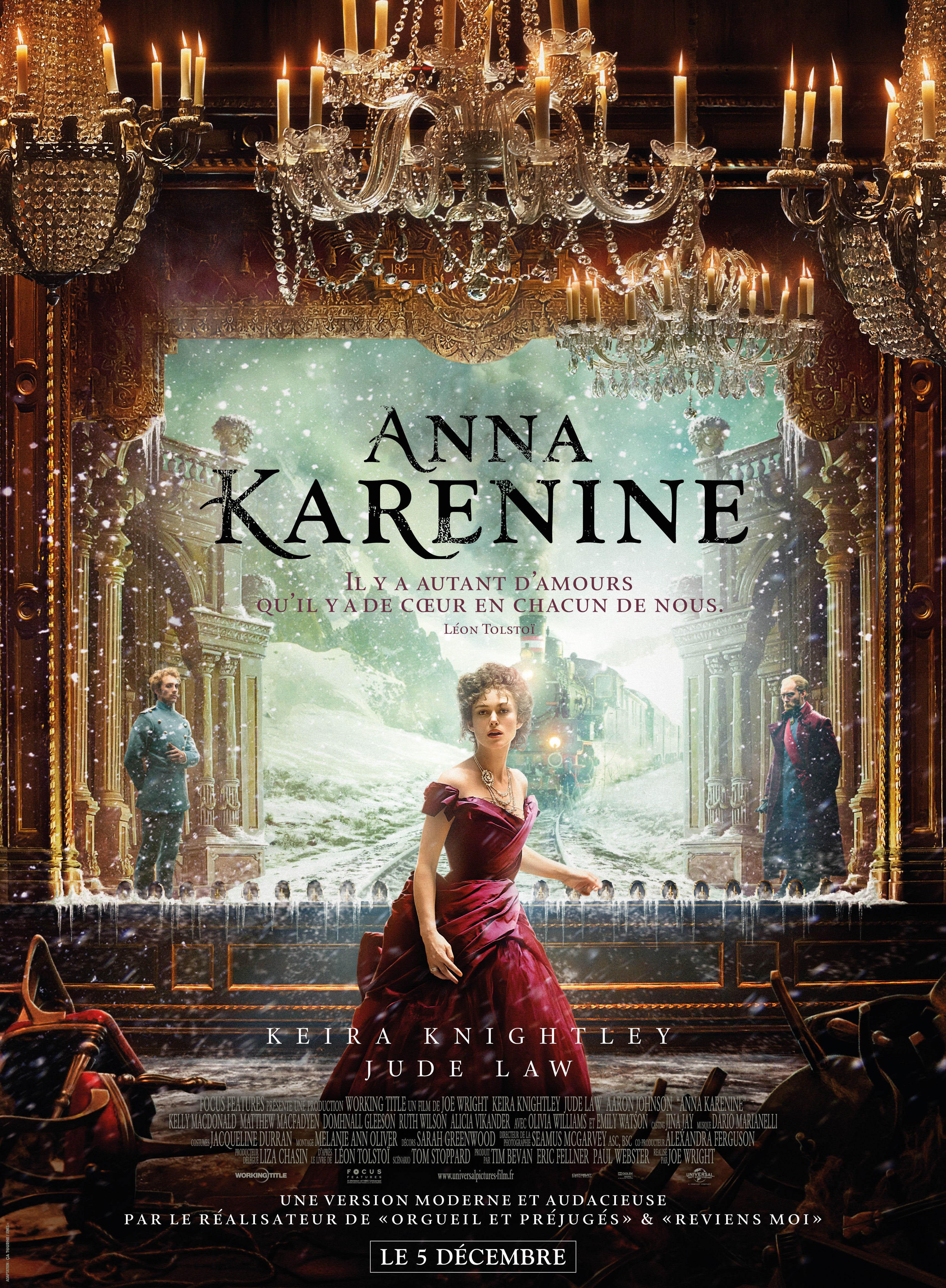 affiche du film Anna Karénine