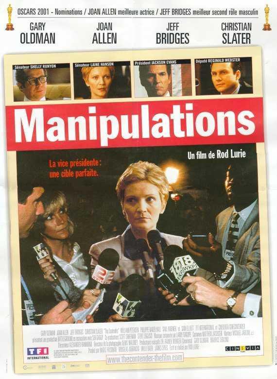 affiche du film Manipulations