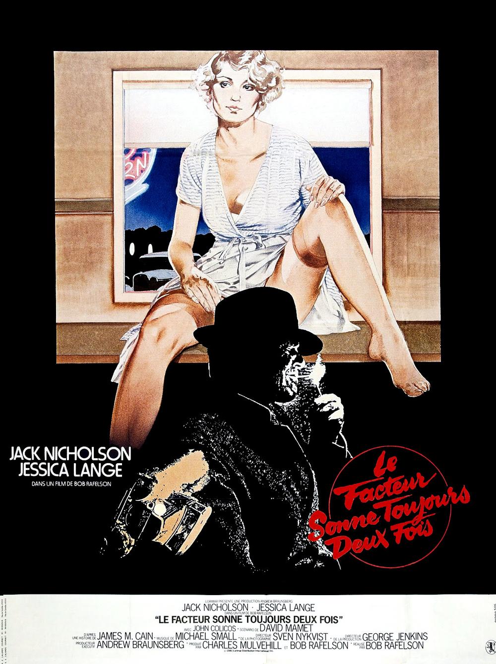 affiche du film Le facteur sonne toujours deux fois (1981)