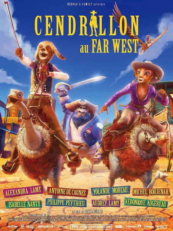 affiche du film Cendrillon au Far West