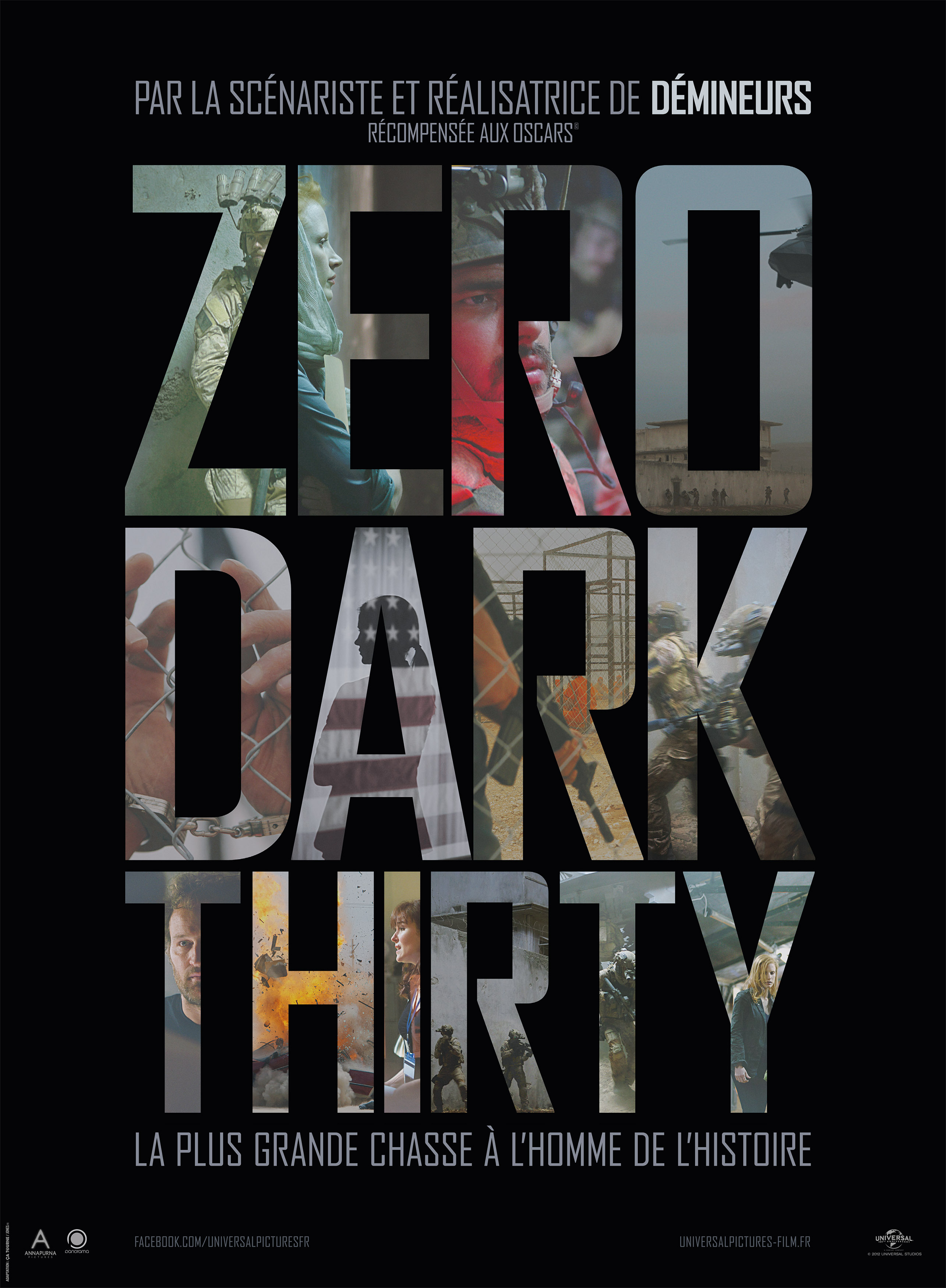 affiche du film Zero Dark Thirty