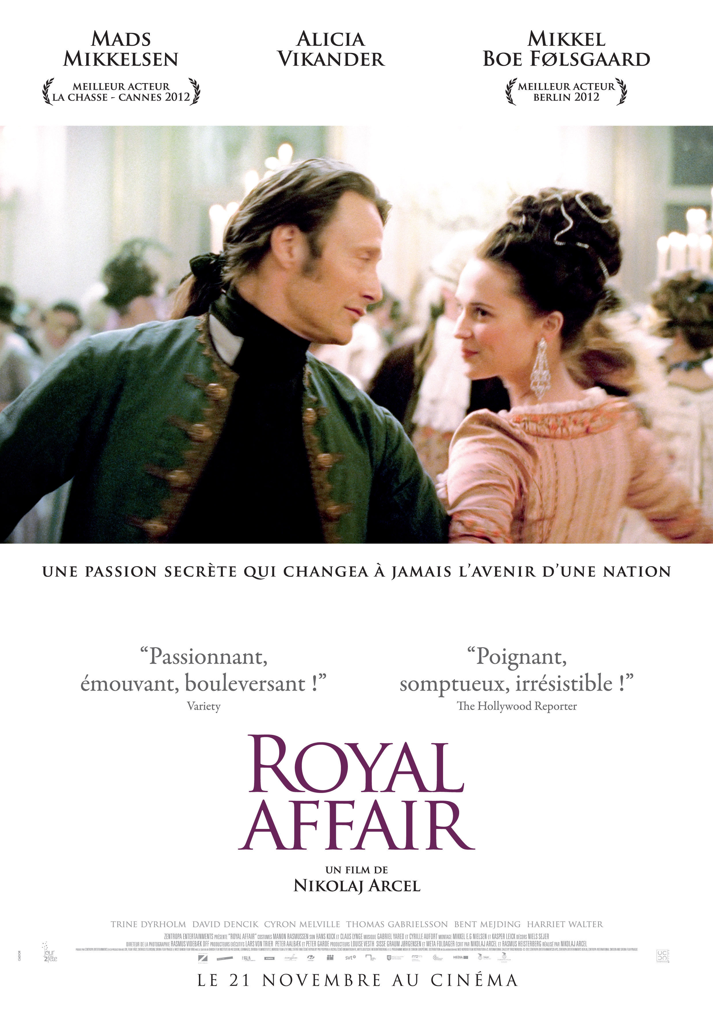 affiche du film Royal Affair