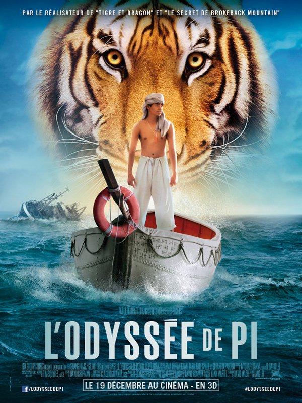 affiche du film L'odyssée de Pi