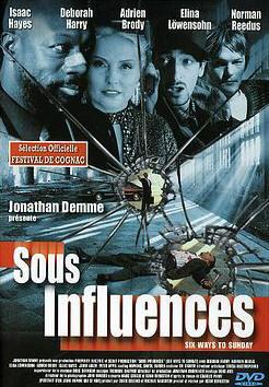 affiche du film Sous influences