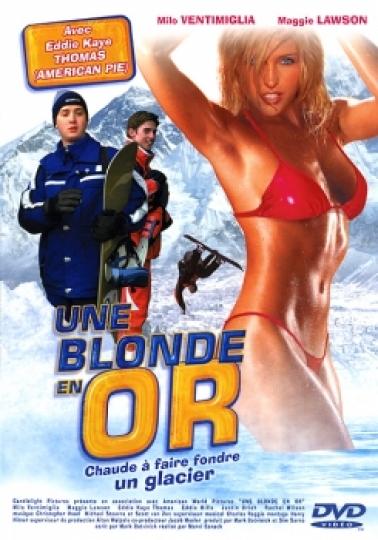 affiche du film Une blonde en or