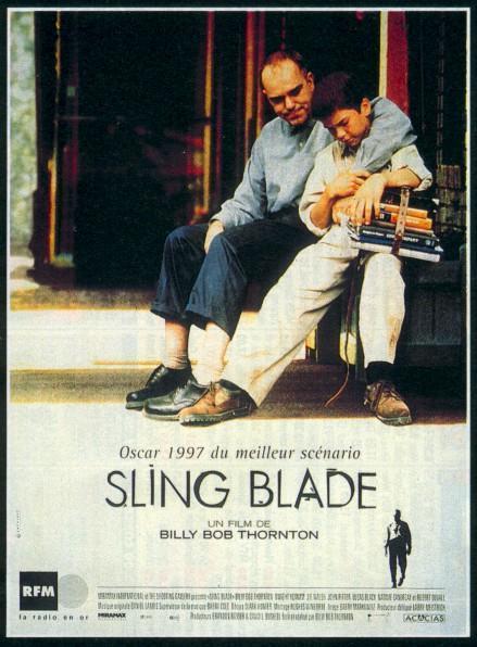affiche du film Sling Blade