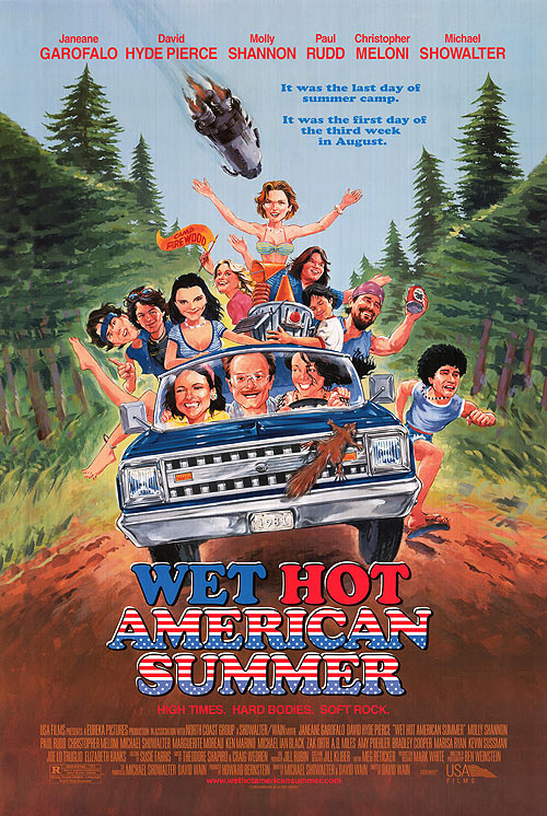 affiche du film Wet Hot American Summer
