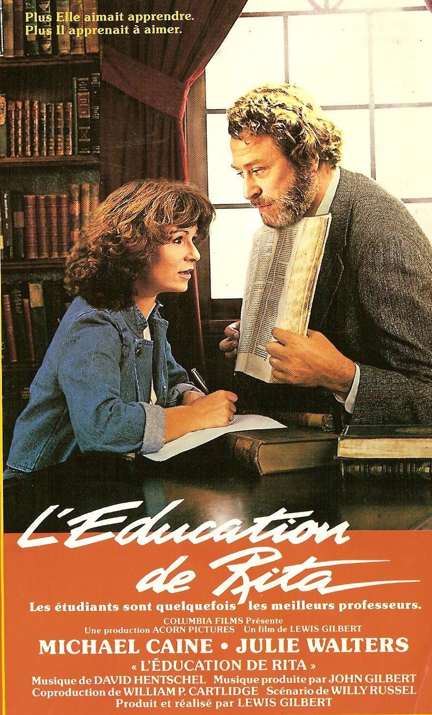 affiche du film L'éducation de Rita