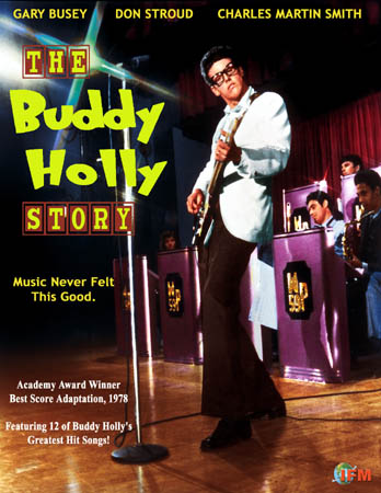 affiche du film The Buddy Holly Story