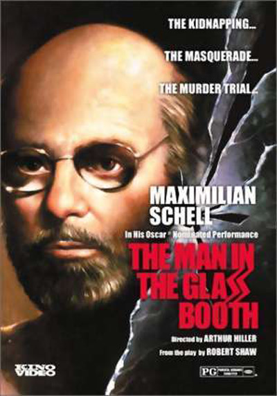 affiche du film The Man in the Glass Booth