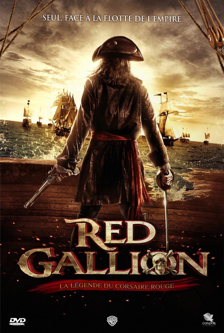 affiche du film Red Gallion : La légende du Corsaire Rouge