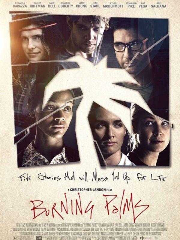 affiche du film Burning Palms