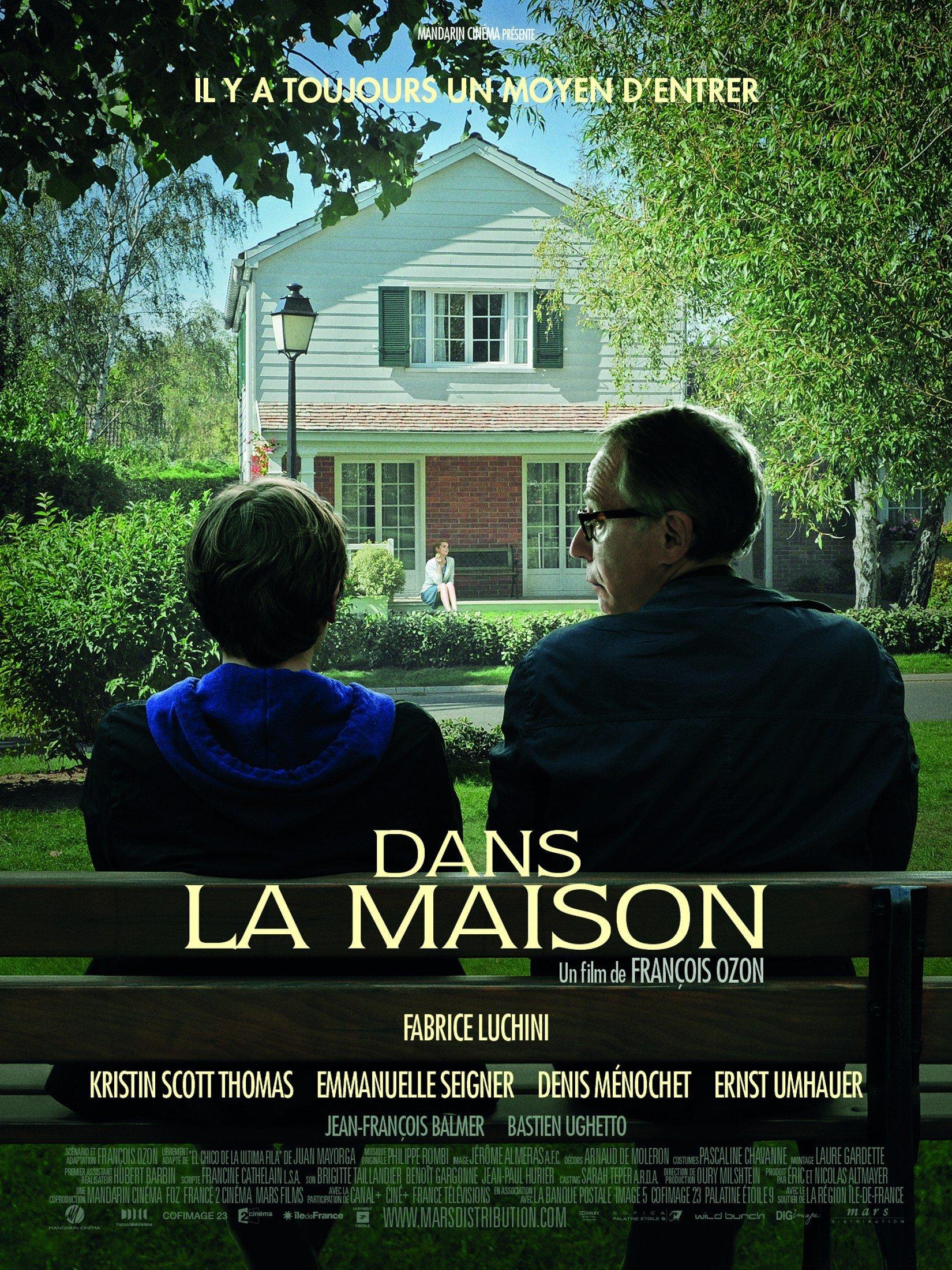 affiche du film Dans la maison