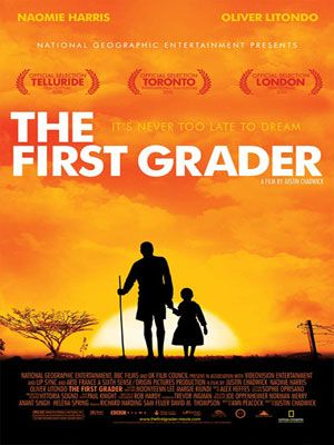 affiche du film The First Grader