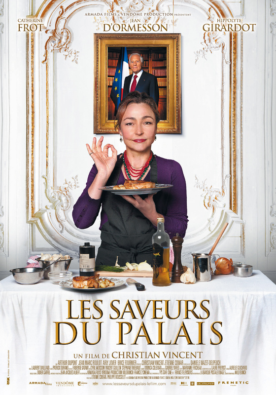 affiche du film Les Saveurs du Palais
