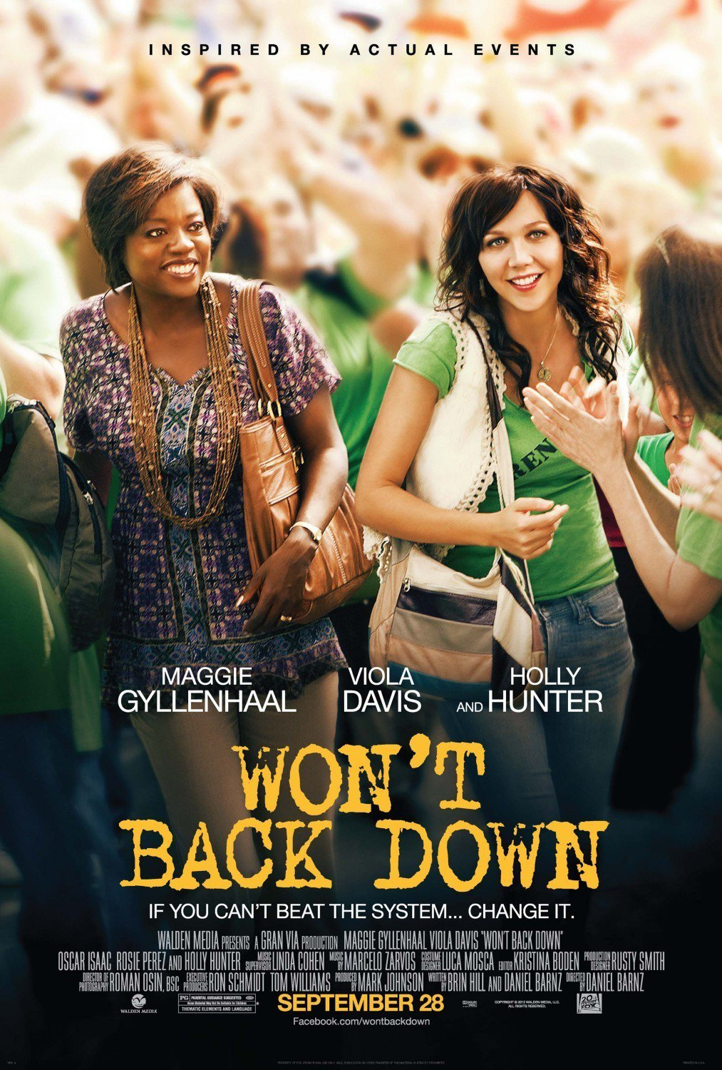 affiche du film Won't Back Down
