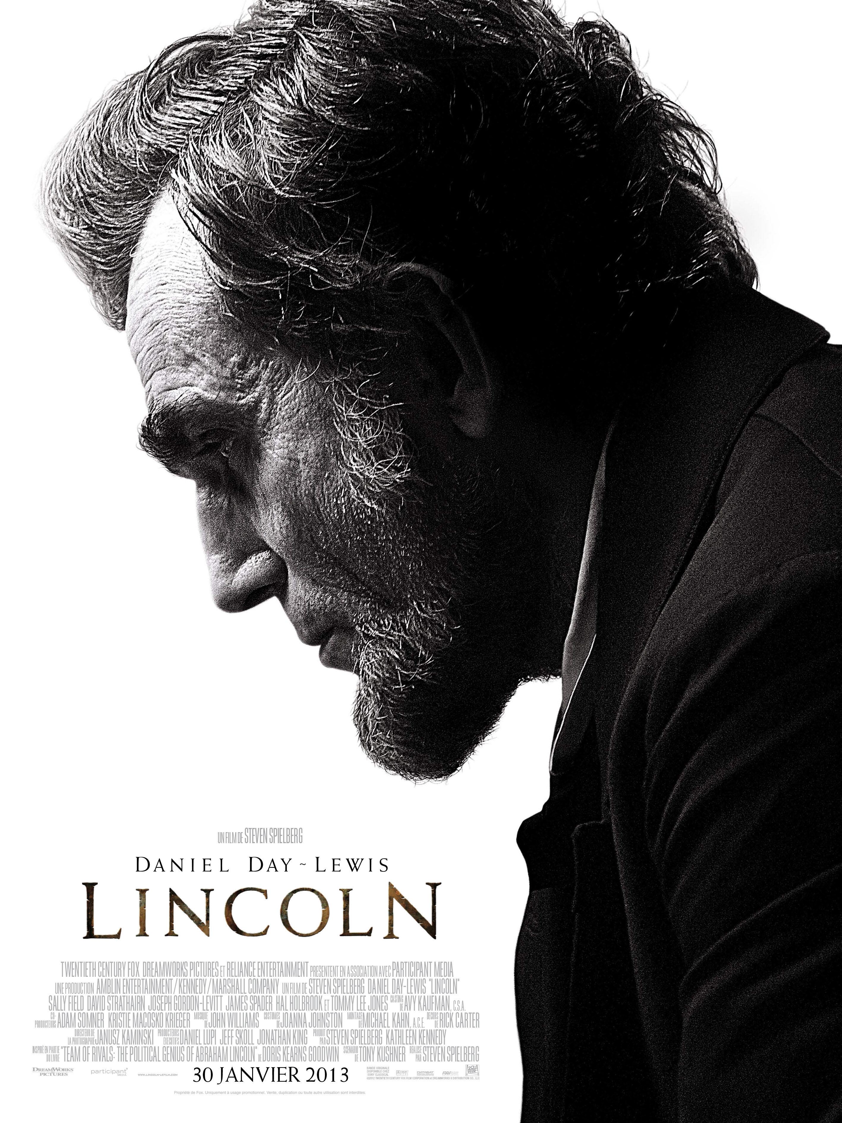 affiche du film Lincoln